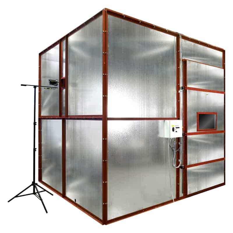 3 Metre Cube Smoke Density Apparatus