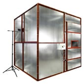 3 Metre Cube Smoke Density Apparatus