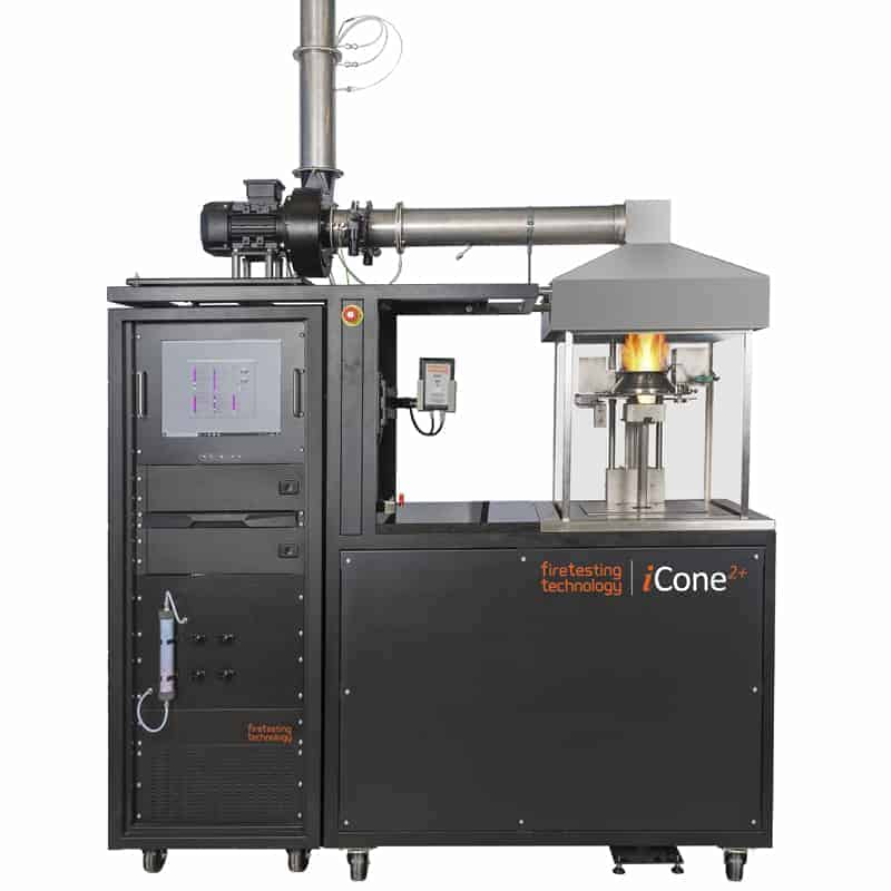 Cone Calorimeter manufactured by Fire Testing Technology, known as the iCone 2+