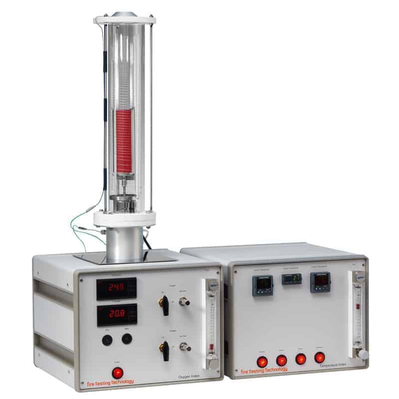 Temperature Oxygen Index Apparatus