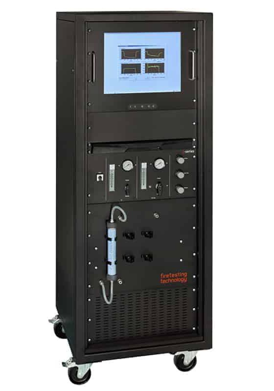Gas Analysis Instrumentation Console