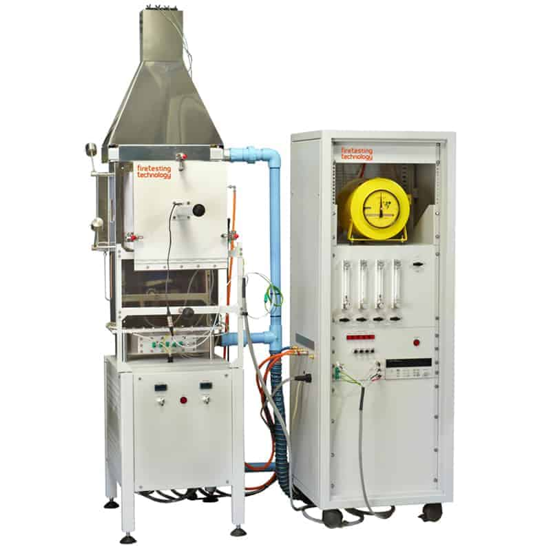 OSU Rate of Heat Release Apparatus fire testing technology