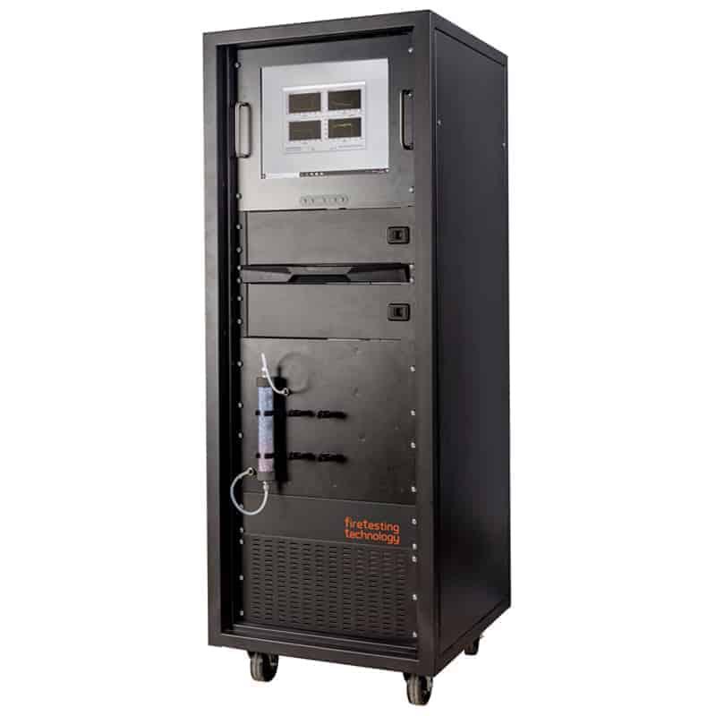Gas analysis rack