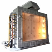 fire resistance test furnace to meet the regulatory testing requirements of fire resistance testing